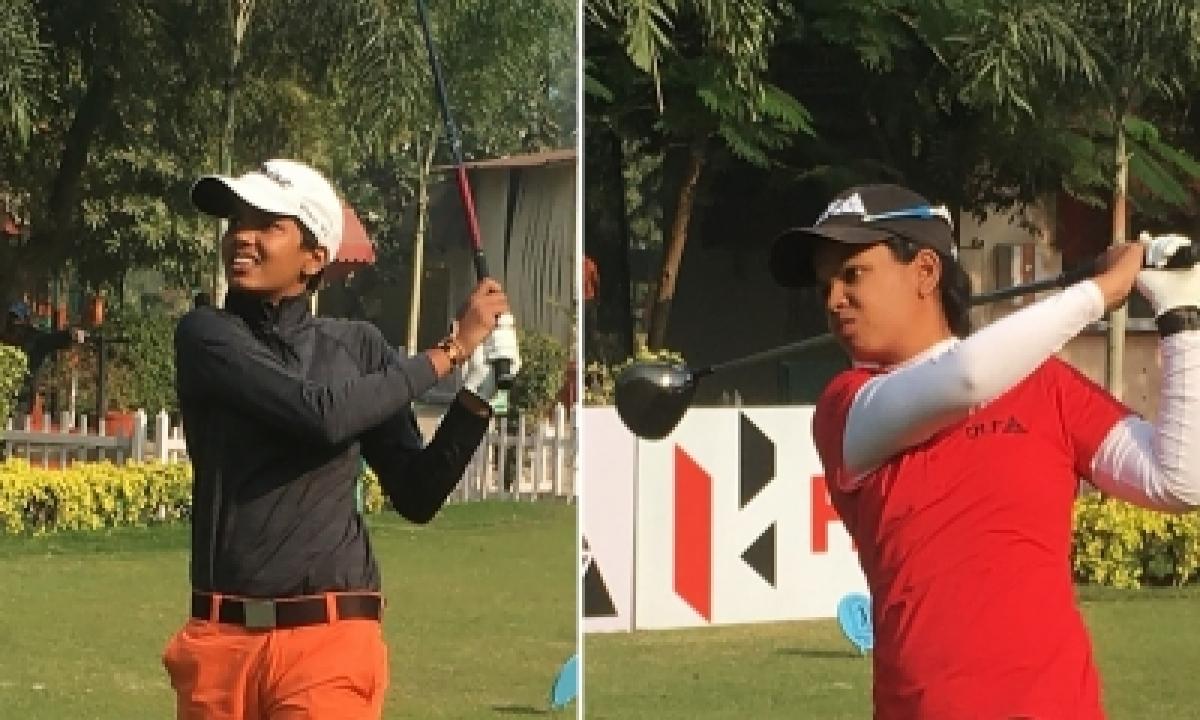 TeluguStop.com - Sneha Takes Lead, Vani Second In 7th Leg Of Women's Golf