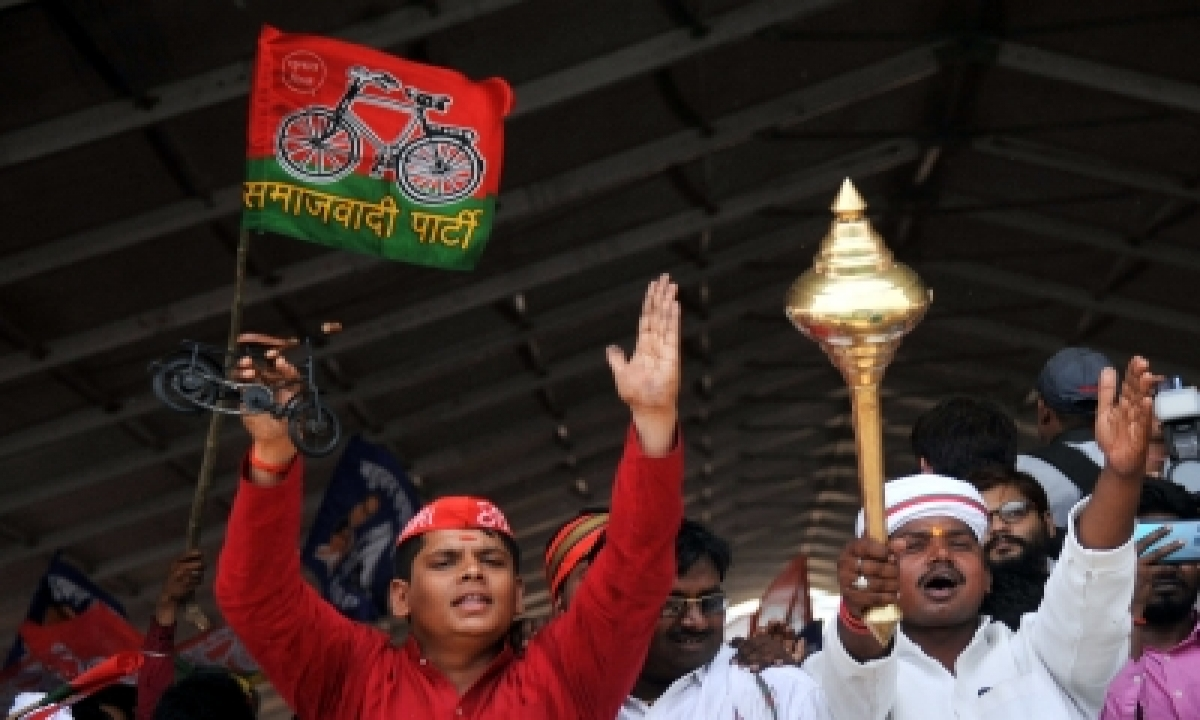 TeluguStop.com - Sp Launches 'yuva Ghera' Youth Campaign In Up