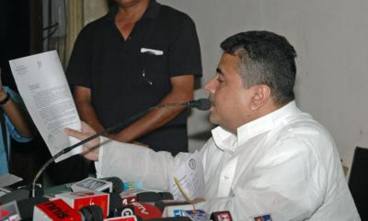TeluguStop.com - Suvendu Adhikari Holds Rally Under Apolitical Banner, Trinamool Claims He Is In'