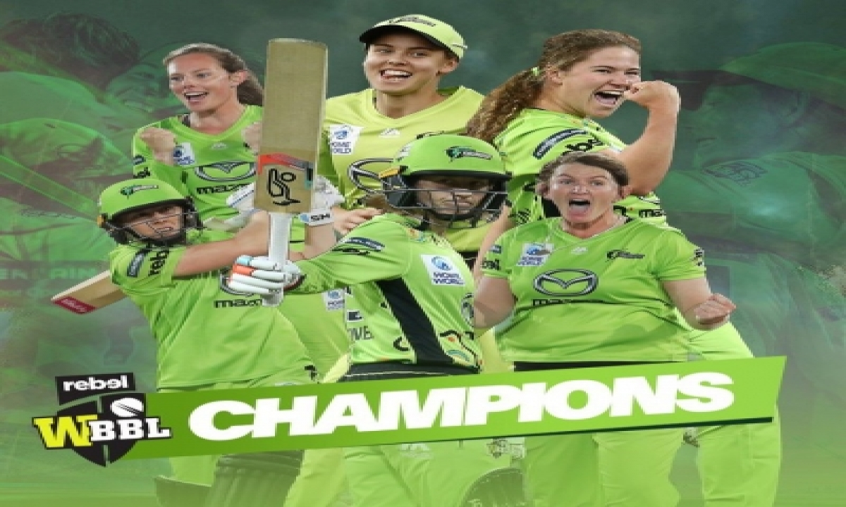 TeluguStop.com - Sydney Thunder Win Women's Big Bash League For Second Time