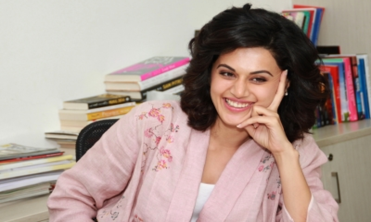 TeluguStop.com - Taapsee Shares A Recipe For Post Workout Recovery