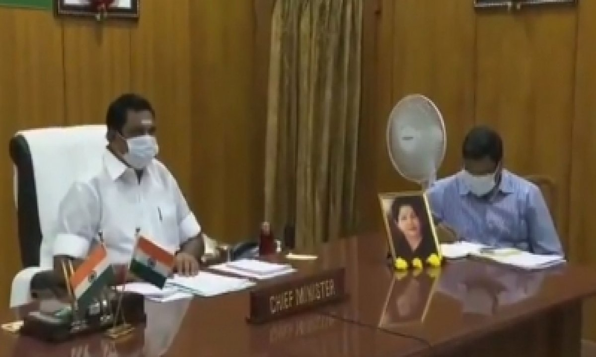 TeluguStop.com - Tamil Nadu Cm Fixes Covid Reduction Targets For Collectors