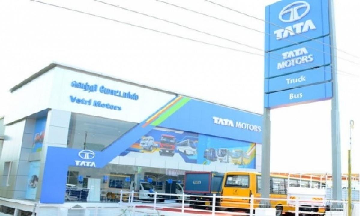 TeluguStop.com - Tata Motors' Q2 Net Loss Widens To Rs 307 Cr
