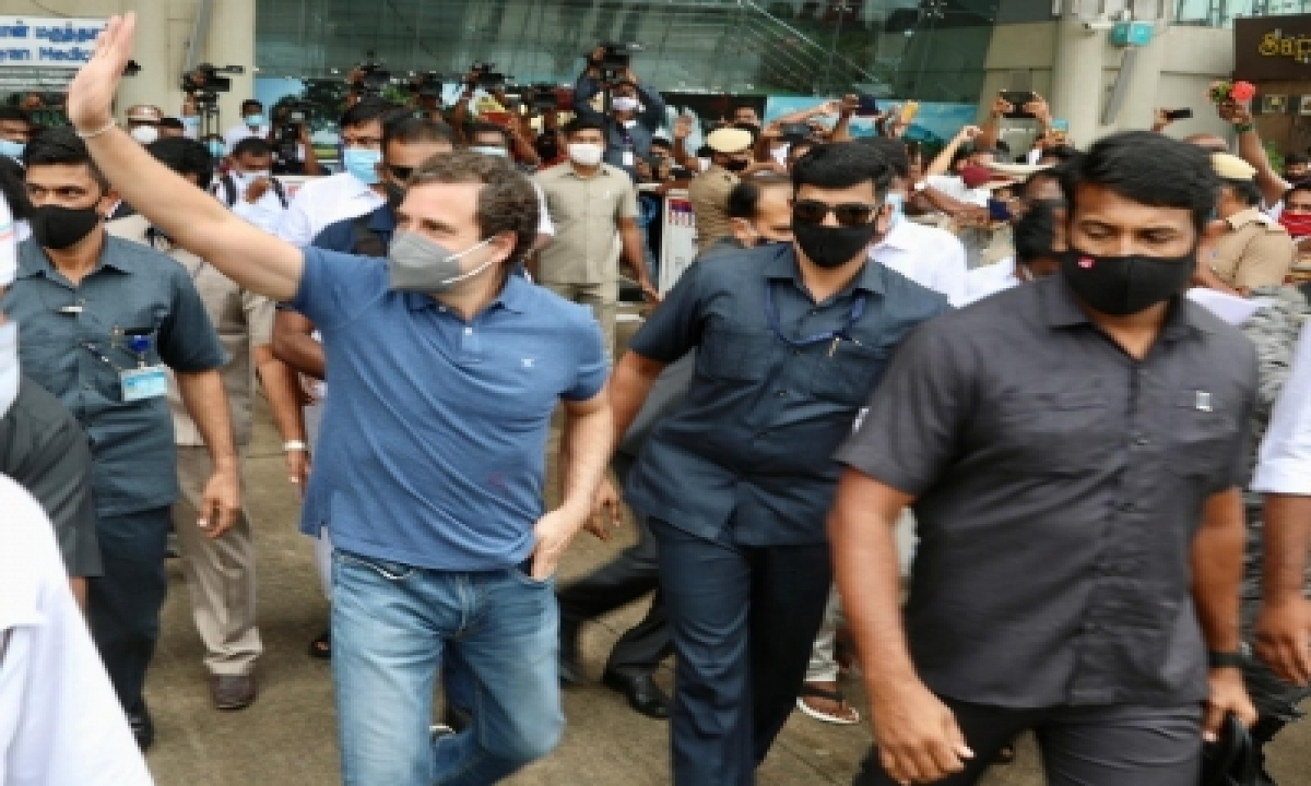 TeluguStop.com - Tn Politics Heats Up As Rahuls, Nadda Visit State On Pongal