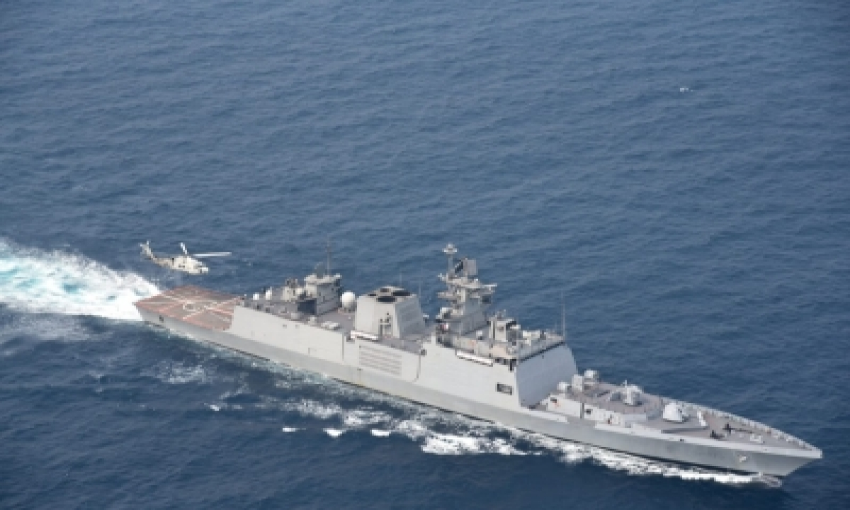 TeluguStop.com - Trilateral Maritime Exercise Sitmex-20 On In Andaman Sea