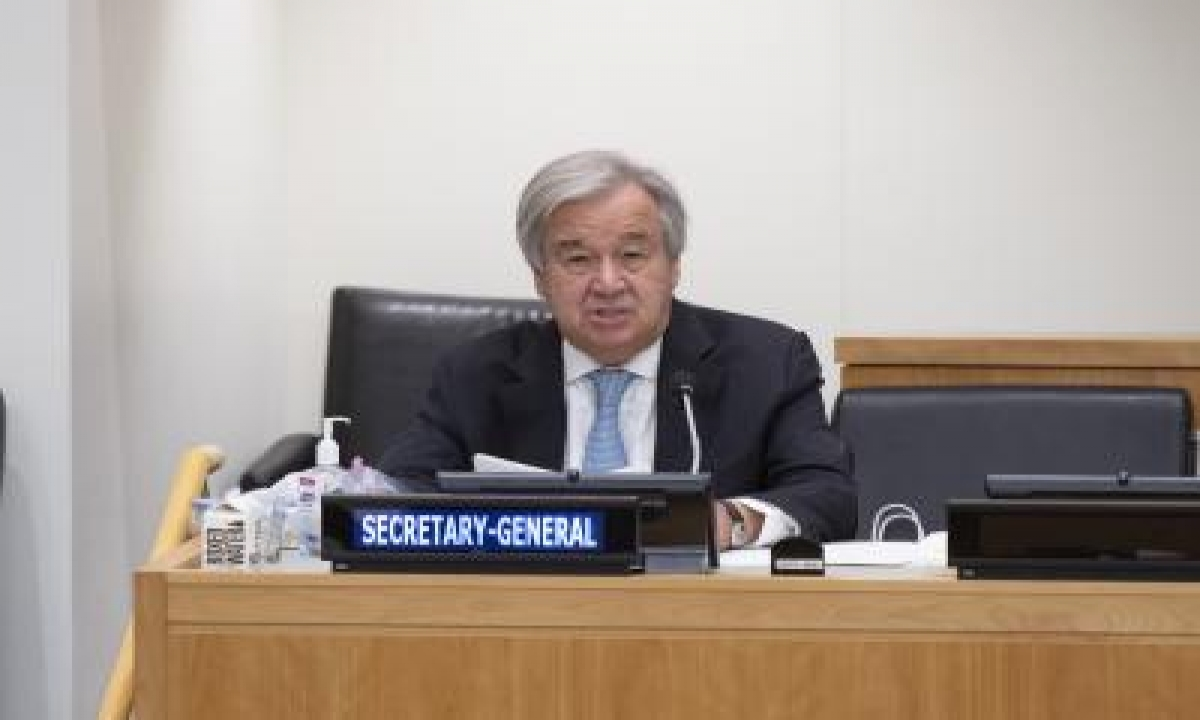 TeluguStop.com - Un Chief Calls For Stronger Ties With Sco To Fight Climate Crisis