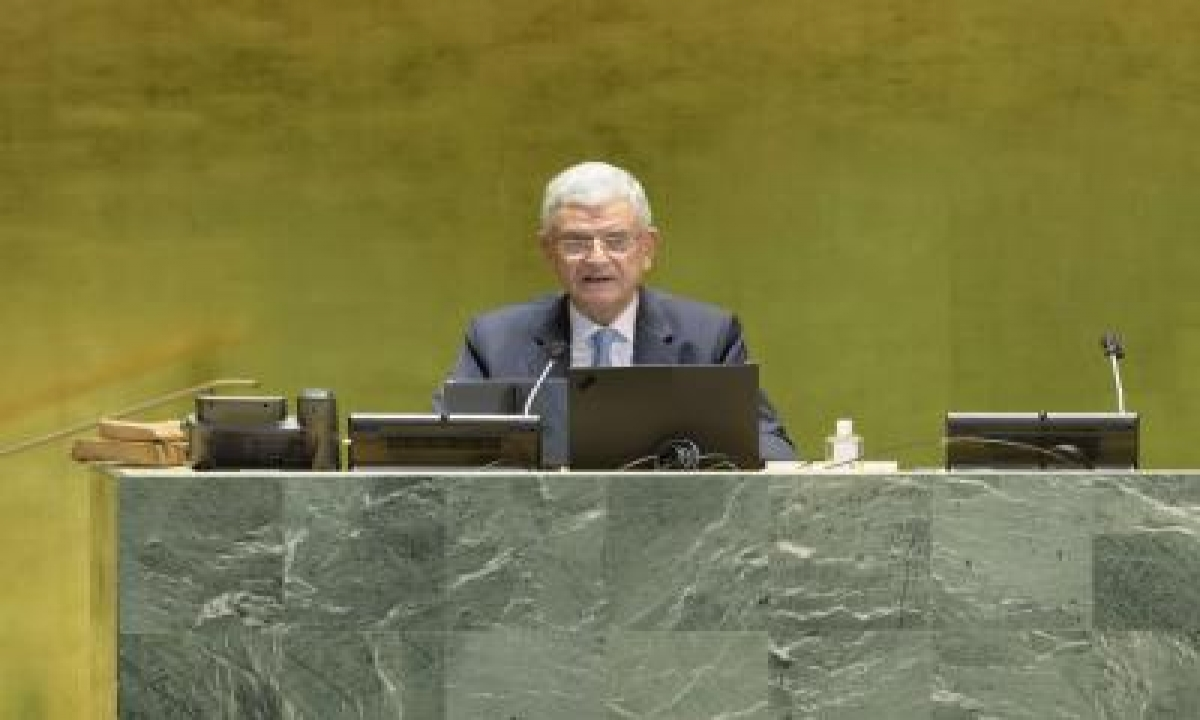 TeluguStop.com - Unga Prez Calls For Joint Efforts To Fight 'infodemic'