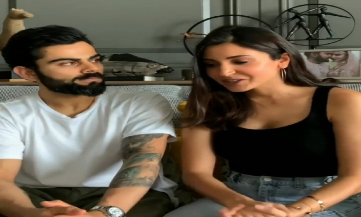 TeluguStop.com - Video Of Virat Kohli Asking Wife Anushka Sharma If She Hass Eaten Goes Viral