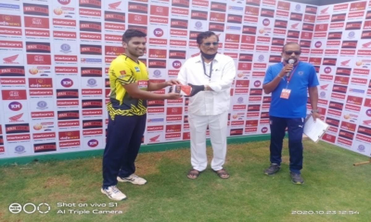 TeluguStop.com - Warriors Xi, Titans Xi Win In Andhra T20 Tournament