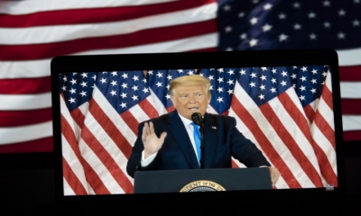TeluguStop.com - Will Leave Wh If Electoral College Votes For Biden: Trump