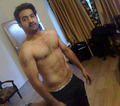 Jr NTR: From Family Pack To Six Pack-Latest News-Telugu Tollywood Photo Image
