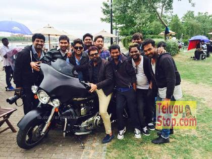 TeluguStop.com - NTR Stylish Bike In 25th-Latest News - Telugu-Telugu Tollywood Photo Image