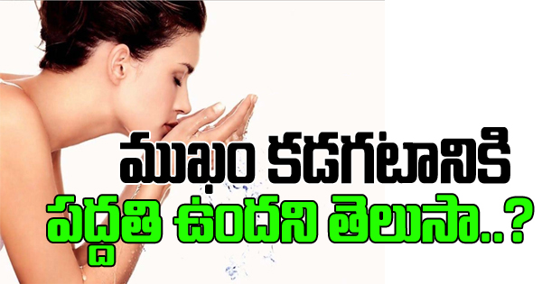 How To Do A Face Clean Up At Home-Telugu Health-Telugu Tollywood Photo Image