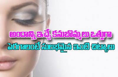 How To Grow Thick Eyebrows Naturally-Telugu Top Ten Tips-Telugu Tollywood Photo Image