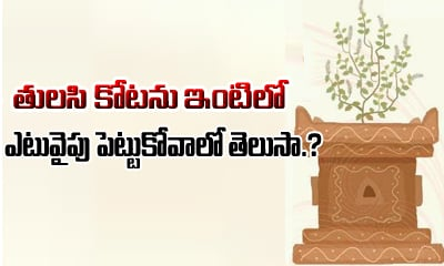 Where To Plant Tulasi At Home-Planting A Tulsi Telugu Devotional