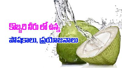 Health Benefits Of Coconut Water-Telugu Health-Telugu Tollywood Photo Image