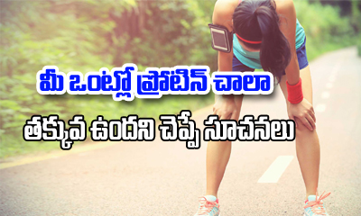 7 Signs That Show Your Body Is Running Low On Protein-General-English-Telugu Tollywood Photo Image
