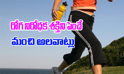 Habits That Can Boost Up Your Immune System-General-English-Telugu Tollywood Photo Image