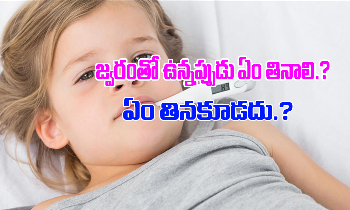 TeluguStop.com - What To Eat And What To Avoid During Fever-Latest News - Telugu-Telugu Tollywood Photo Image