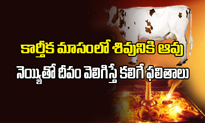 Kartika Masam Cow Ghee Deepam Importance-Devotional-Telugu Tollywood Photo Image