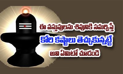 7 Things That Should Never Be Offered On A Shivling-