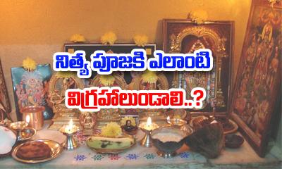 నిత్య పూజకి ఎలాంటి విగ్రహాలుండాలి-Devotional-Telugu Tollywood Photo Image