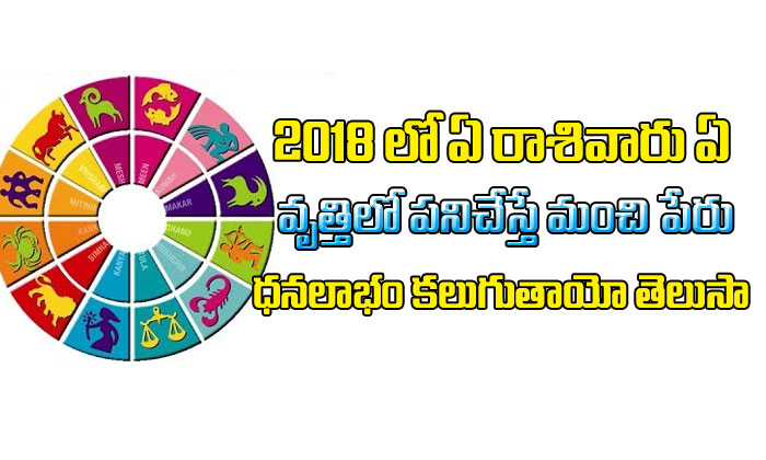 TeluguStop.com - Career Predictions In 2018 Based On Zodiac Sign-Devotional-Telugu Tollywood Photo Image