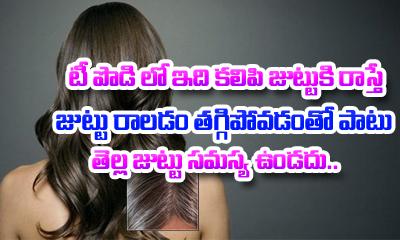 Best Hair Fall Treatment-Telugu Health - తెలుగు హెల్త్ టిప్స్ ,చిట్కాలు-Telugu Tollywood Photo Image