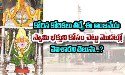 History Of Maddi Anjaneya Swamy Temple In West Godavari-Devotional-Telugu Tollywood Photo Image