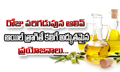Olive Oil Health Benefits-Telugu Health-Telugu Tollywood Photo Image