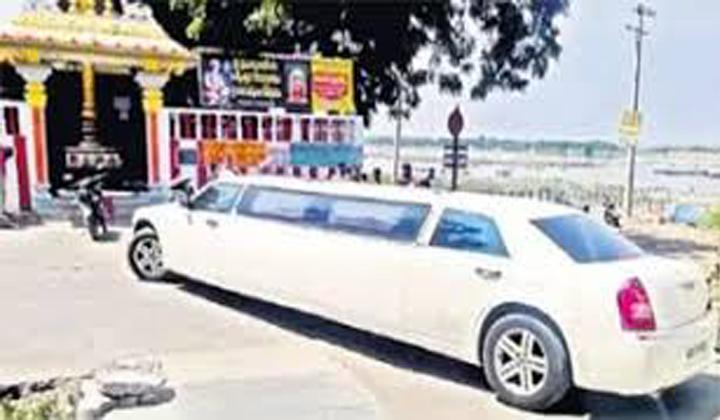ఇంత పే…….ద్ద కారుకి అమరావతిలో ఏం పని ..-General-Telugu-Telugu Tollywood Photo Image