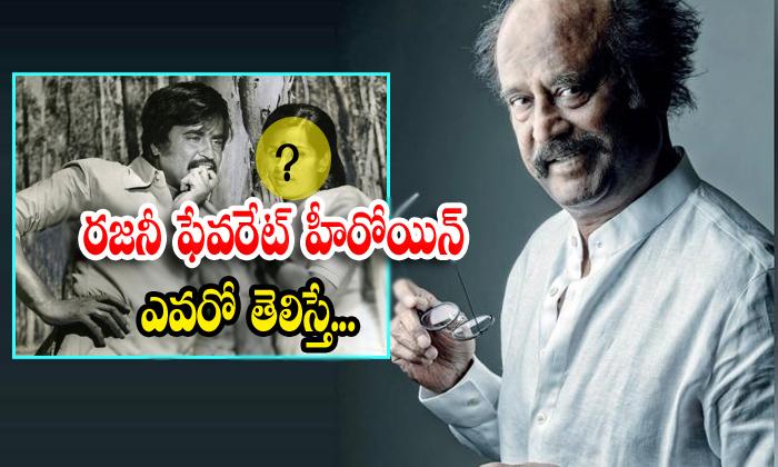 TeluguStop.com - Rajinikanth All Time Favorite Heroin Is Fatafat Jayalaxmi