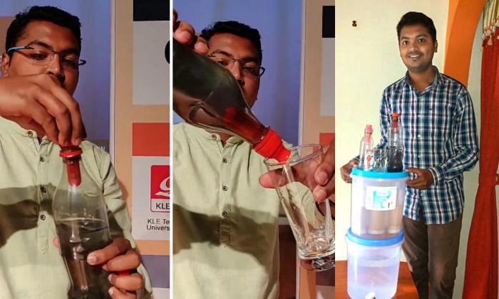 ఆదర్శం : ప్రపంచంలోనే అతి చీప్ వాటర్ ఫిల్టర్ తయారు చేసింది మనోడే-General-Telugu-Telugu Tollywood Photo Image