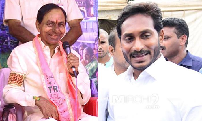 వైసీపీ విషయంలో కేసీఆర్ స్టెప్ ఏంటో…-Political-Telugu Tollywood Photo Image