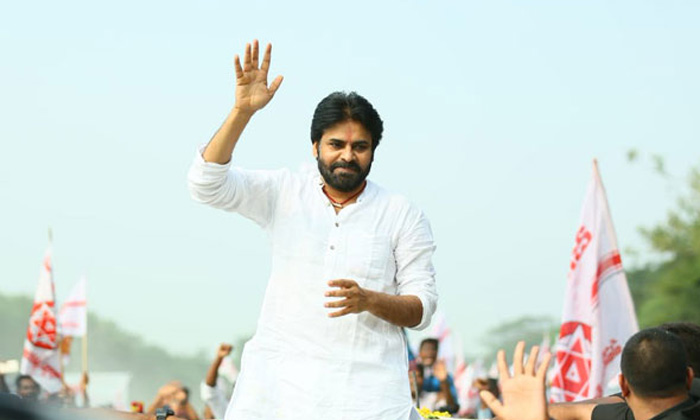 BSP Chief Mayawati Campaign For Janasena In Vijayawada-