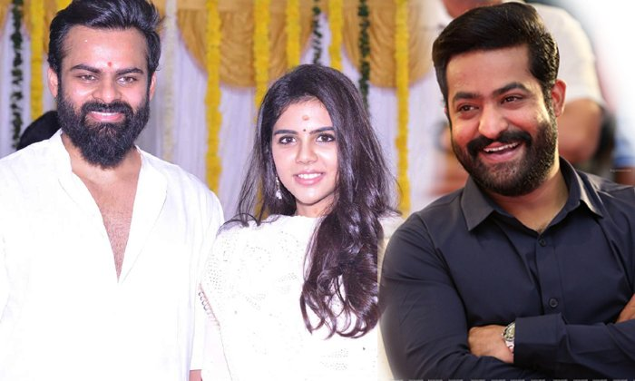 JR NTR Attend For Chitralahari Movie Pre Release Event-