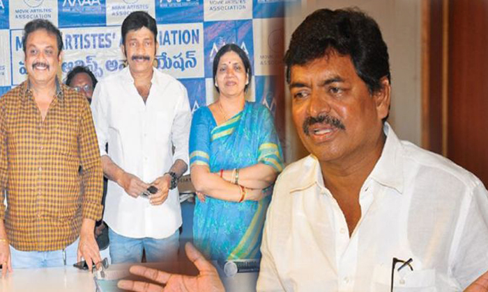 Sivaji Raja Want To Continue His Authority On MAA Association-