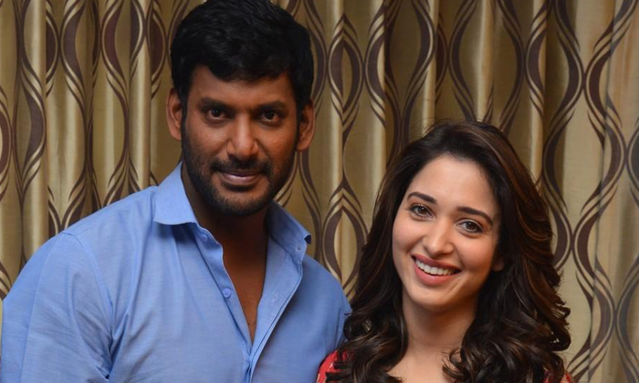 Tamannaah Play Negative Role In Vishal Movie-