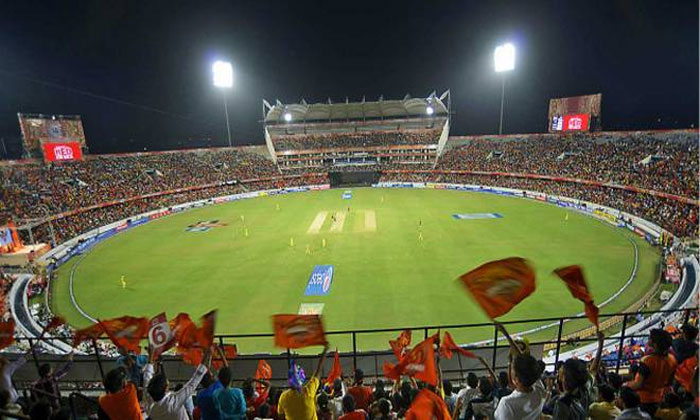 Ipl Final Match In Uppal Stadium
