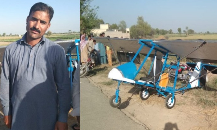 Man Builds Homemade Plane Then Uses Road As Runway To Take Off-