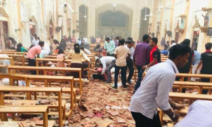 Terrorist Serial Bomb Blasts In Sri Lanka