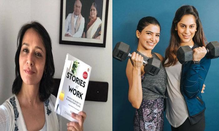 Akkineni Amala Nominate To Samantha And Upasana For Reading Is A Good Challenge