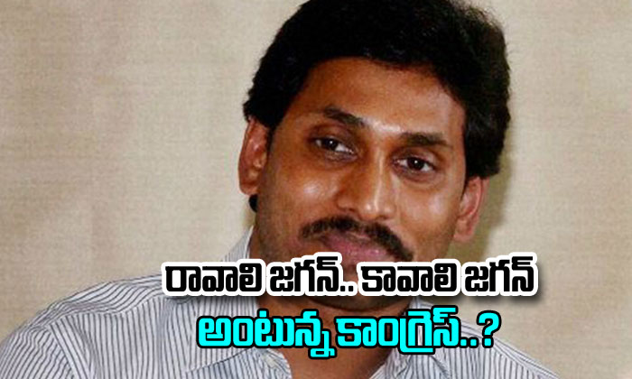 Congress Wants To Support Ys Jagan