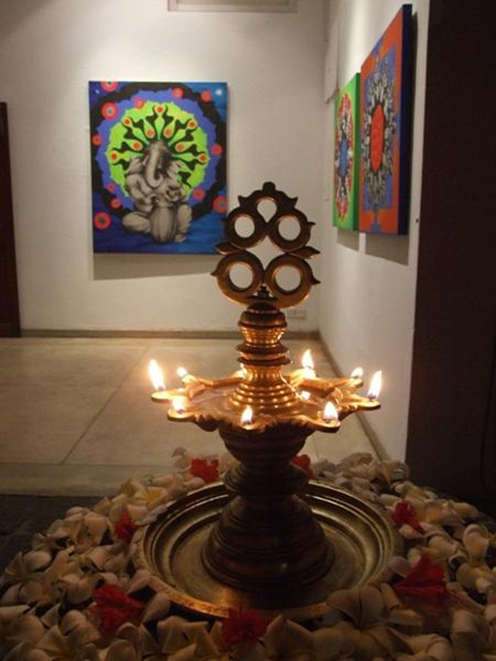 Direction For The Pooja Lamp -