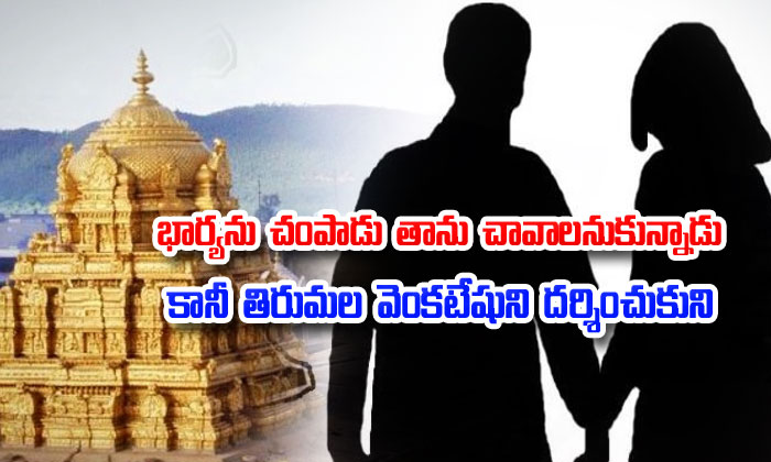 Husband Killed Wife In Kurnool