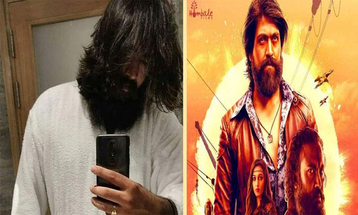Kgf Chapter 2 Movie Hero Yash Look Leaked- Telugu Tollywood Movie Cinema Film Latest News Kgf Chapter 2 Movie Hero Yash Look Leaked--KGF Chapter 2 Movie Hero Yash Look Leaked-
