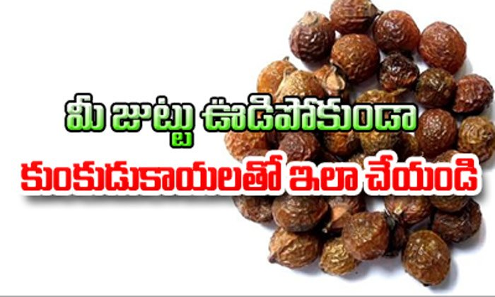 TeluguStop.com - Hair Loss Treatment With Soapnuts