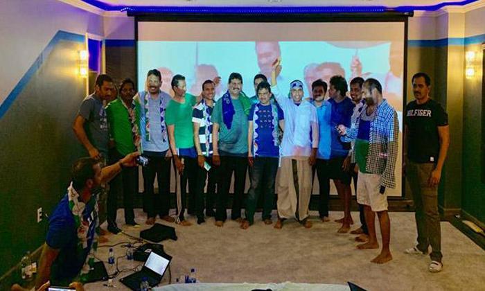 Ycp Leaders Celebrations In Missouri- Telugu Political Breaking News - Andhra Pradesh,Telangana Partys Coverage Ycp Leaders Celebrations In Missouri--YCP Leaders Celebrations In Missouri-