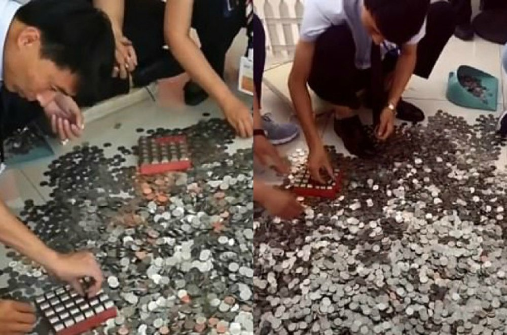China Woman Buys Car With 66 Bags Of Coins - Telugu Viral News China Woman Buys Car With 66 Bags Of Coins -
