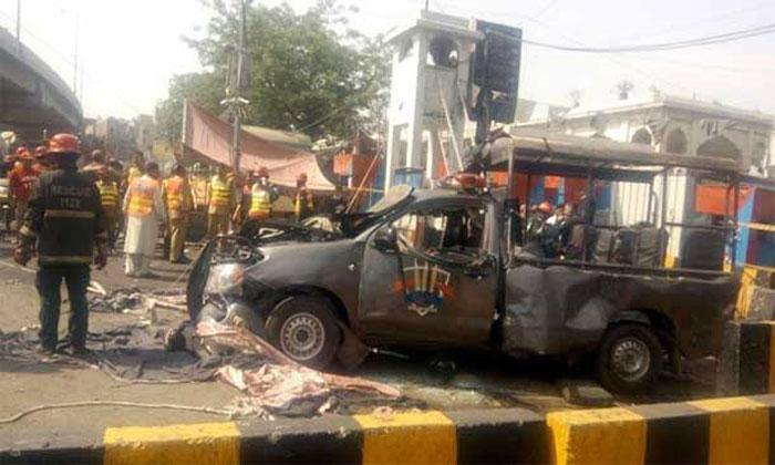 Huge Explosion In Pakistan